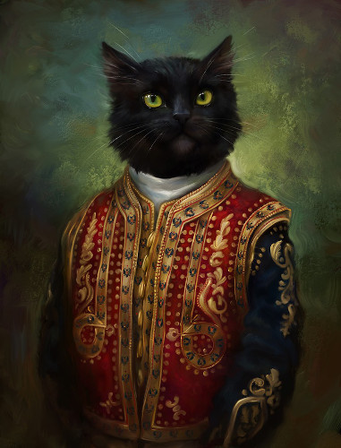 Picture of a cat named Whiskers J Snuggleworths the third.