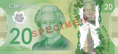 Canadian twenty-dollar bill