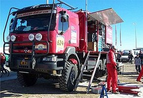 Rally support truck