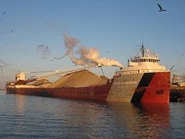 Lake freighter
