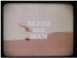 Bears and Man