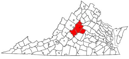 Charlottesville, VA MSA