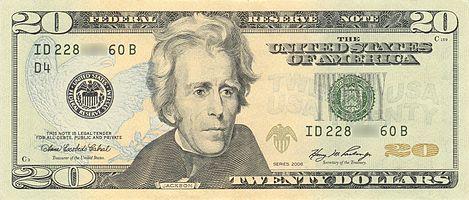 United States twenty-dollar bill