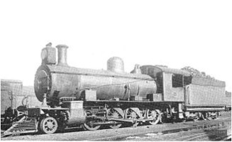 South African Class 8X 2-8-0