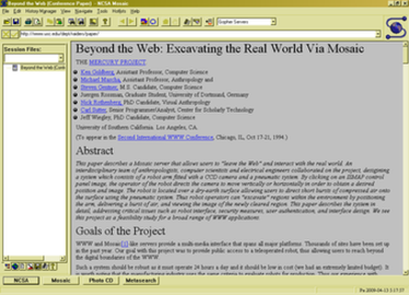 Mosaic (web browser)