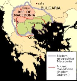 Macedonia naming dispute