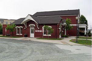 Charlottesville (Amtrak station)