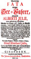 Johann Gottfried Schnabel