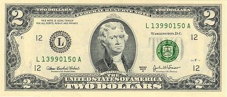 United States two-dollar bill