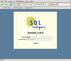 SQL-Ledger